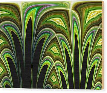 Kerensa No.3 Wood Print by Danny Lally