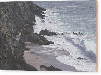Kerry Beach Wood Print