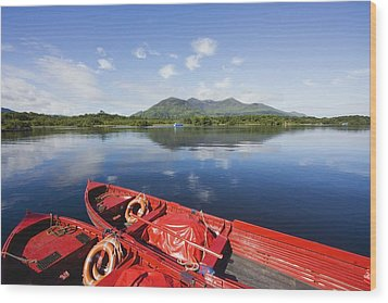 Killarney, County Kerry, Munster Wood Print by Peter Zoeller