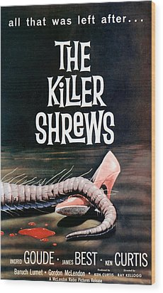 Killer Shrews, The, 1959 Wood Print by Everett
