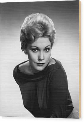 Kim Novak, Columbia Pictures, 1956 Wood Print by Everett