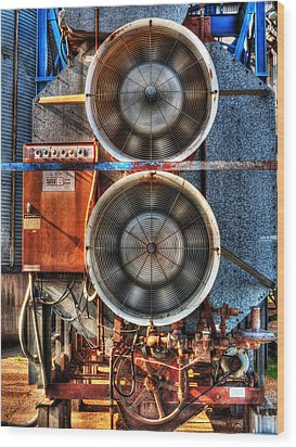 Kinetic Energy Wood Print by William Fields