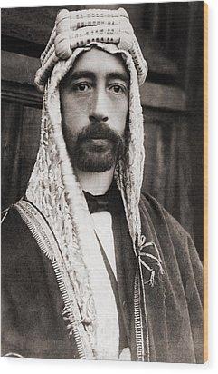 King Faisal Faysal Of Iraq 1885�33 Wood Print by Everett