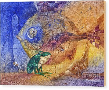King-fish Wood Print by Svetlana and Sabir Gadghievs