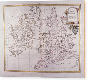 Kingdom Of England And Ireland Wood Print by Fototeca Storica Nazionale