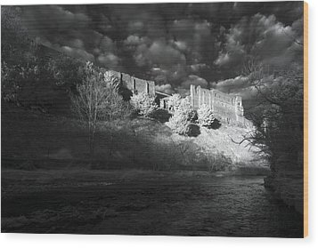 King's Arthur's Castle Wood Print by Matt Nuttall