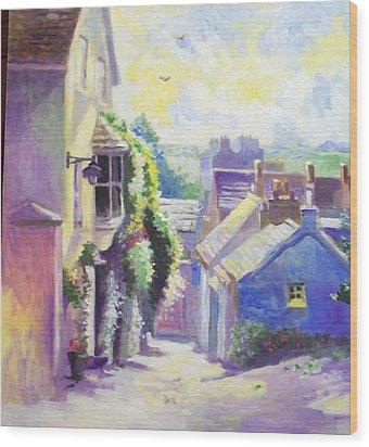 Kinsale Co Cork Wood Print by Paul Weerasekera