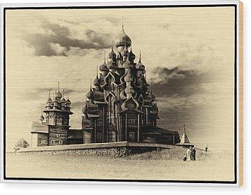 Wood Print featuring the photograph Kishi Domes Old Artwork by Rick Bragan