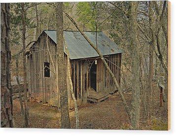 Klepzig Mill 3 Wood Print by Marty Koch