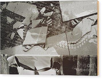 Knecht Wood Print by Alexandria Ortiz