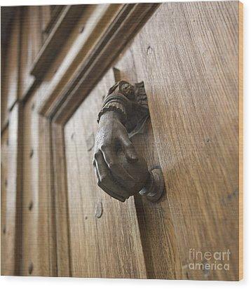 Knocker Wood Print by Bernard Jaubert