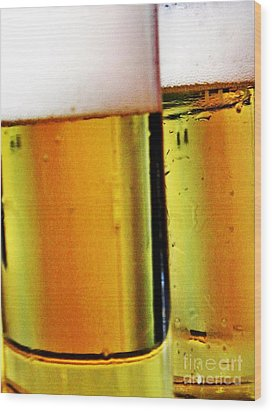 Koelsch - Fine Beer Of Cologne Wood Print by Tanja Cathrin  Liebig