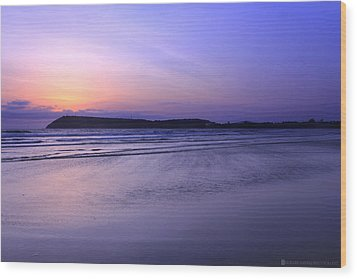 Konkan Seascape Wood Print by Saurabh Shenai