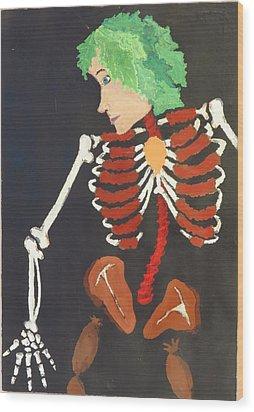 Koolaid 1 Wood Print by Darien Wendell