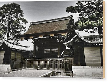 Kyoto Gosho Wood Print by Juergen Weiss