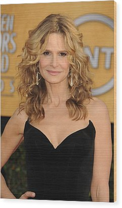 Kyra Sedgwick At Arrivals For 17th Wood Print by Everett