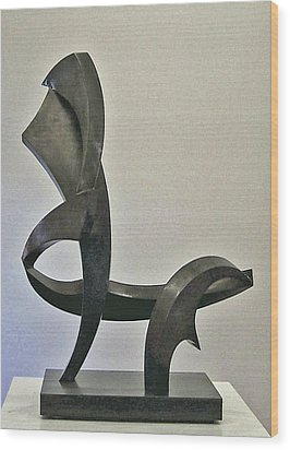 La Chaise Wood Print by John Neumann