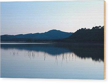 La Estanca-perdiguero 1 Wood Print by RicardMN Photography
