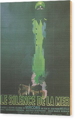 La Silence De La Mer Wood Print by Georgia Fowler