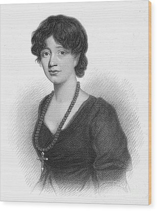 Lady Charlotte Mary Scott Wood Print by Granger