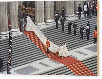 Lady Diana Spencer, 1981 Wood Print by Granger