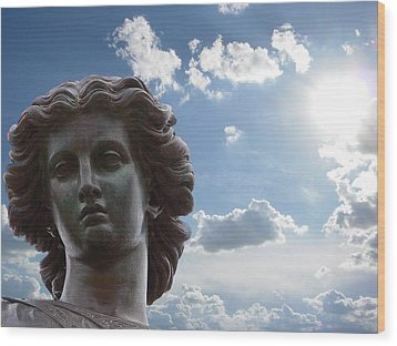 Wood Print featuring the photograph Lady Of The Waters by Sarah McKoy