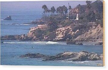 Laguna Surf Wood Print