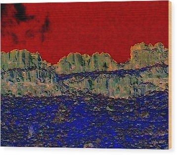Lake Billy Chinook 3 Wood Print by Randall Weidner