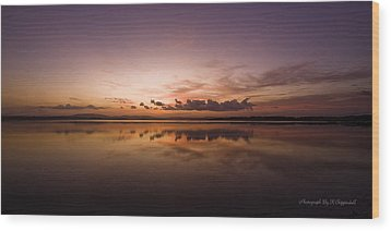 Wood Print featuring the digital art Lake Forster Nsw 01 by Kevin Chippindall