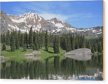 Lake Irwin Wood Print