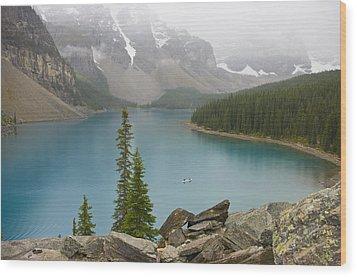 Lake Louise - 0308 Wood Print