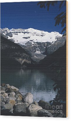 Wood Print featuring the photograph Lake Louise II by Sharon Elliott