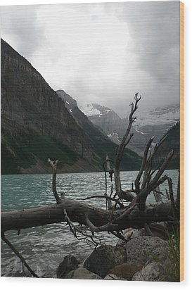Wood Print featuring the photograph Lake Louise by Laurel Best