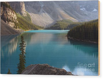 Wood Print featuring the photograph Lake by Milena Boeva
