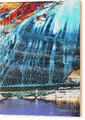Lake Powell Reflection Wood Print
