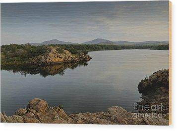 Lake Quanah Parker  Wood Print by Royce  Gideon