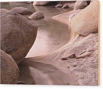 Lake Tahoe Calmness Wood Print by Scott McGuire
