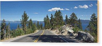 Lake Tahoe Wood Print by Jeff Lowe