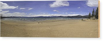 Wood Print featuring the photograph Lake Tahoe by Paul Plaine