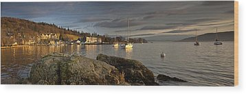 Wood Print featuring the photograph Lake Windermere Ambleside, Cumbria by John Short