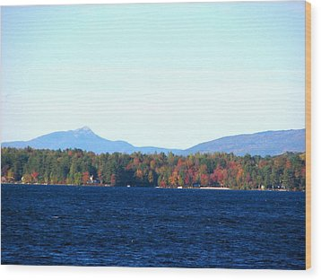 Lake Winnisquam Wood Print