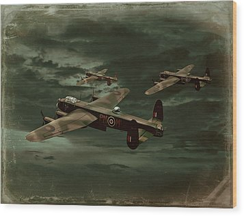 Wood Print featuring the photograph Lancaster Mission by Steven Agius