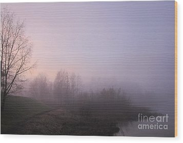 Land Of Mist And Legend Wood Print by Michelle Meer