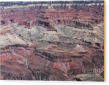 Landing In The Canyon Wood Print by John Rizzuto