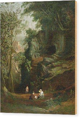 Landscape Near Clifton Wood Print by Francis Danby