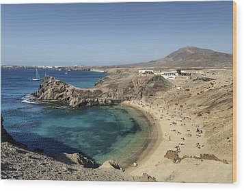 Lanzarote , Wood Print by Travelstock44 - Juergen Held
