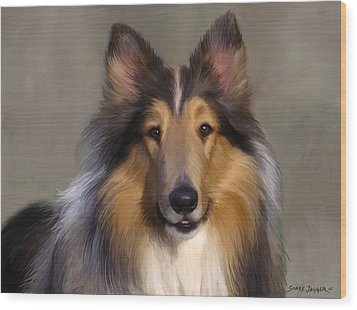 Lassie Come Home Wood Print by Snake Jagger
