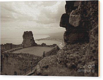 Last Greek Vestige 2 Wood Print