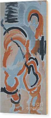 Last Man Standing Wood Print by Jay Manne-Crusoe