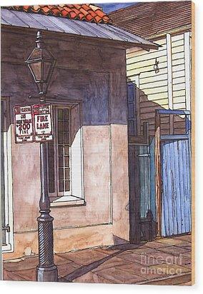 Late Evening Shadow Wood Print by John Boles